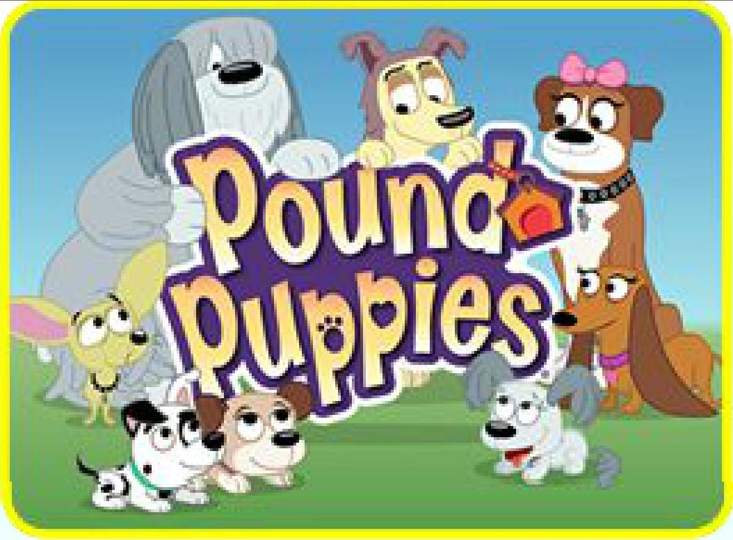 30  Beautiful Pound Puppies Characters